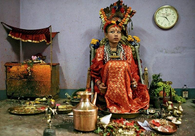 Богини среди нас: девочки Кумари, живущие в Непале считаются священными богинями