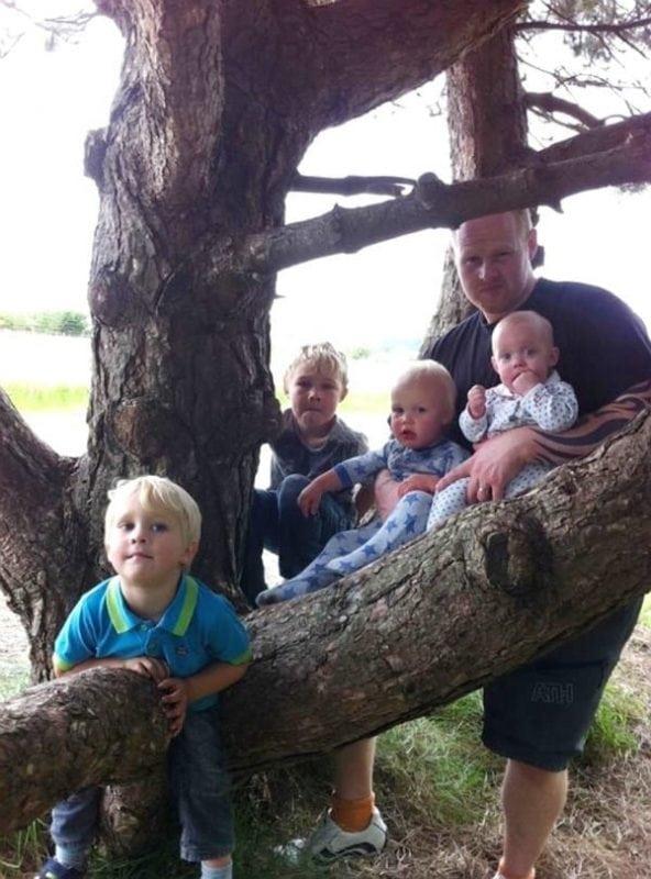 После неожиданной смерти мужа, она осталась одна с 8 детьми!