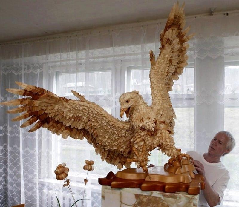 Поделки птицы и животные