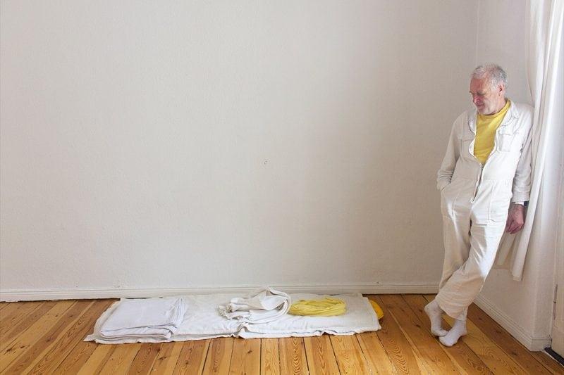 Йоахим Клекнер - настоящий минималист, который отказался от всех ненужных вещей