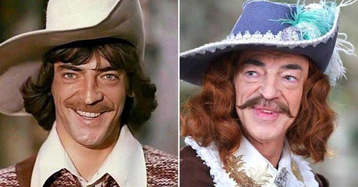 Как изменились актеры фильма «Д'Артаньян и три мушкетера» за 39 лет