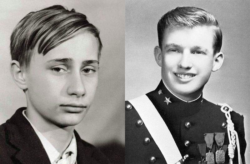 мировые лидеры в юности