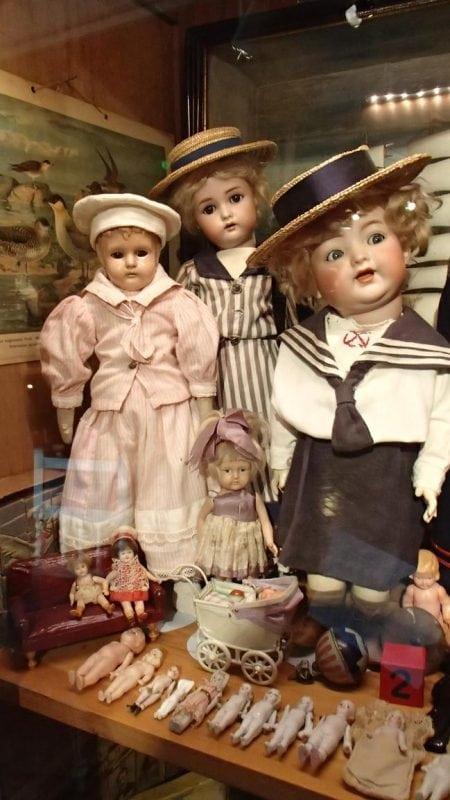 Музей игрушек в морской крепости Суоменлинна