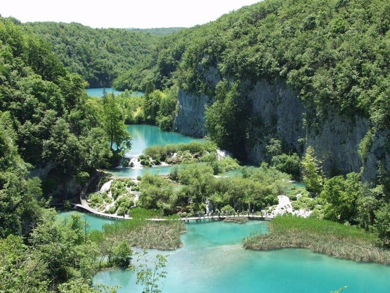 Плитвицкие озёра - самый известный парк Хорватии