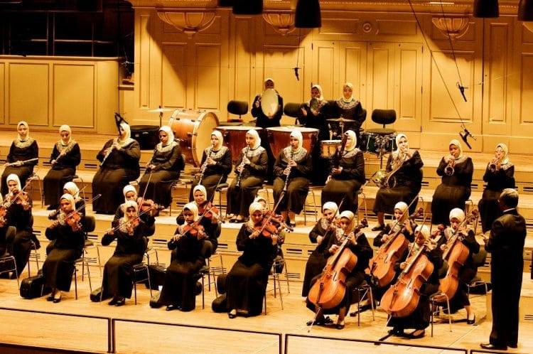 египетский оркестр