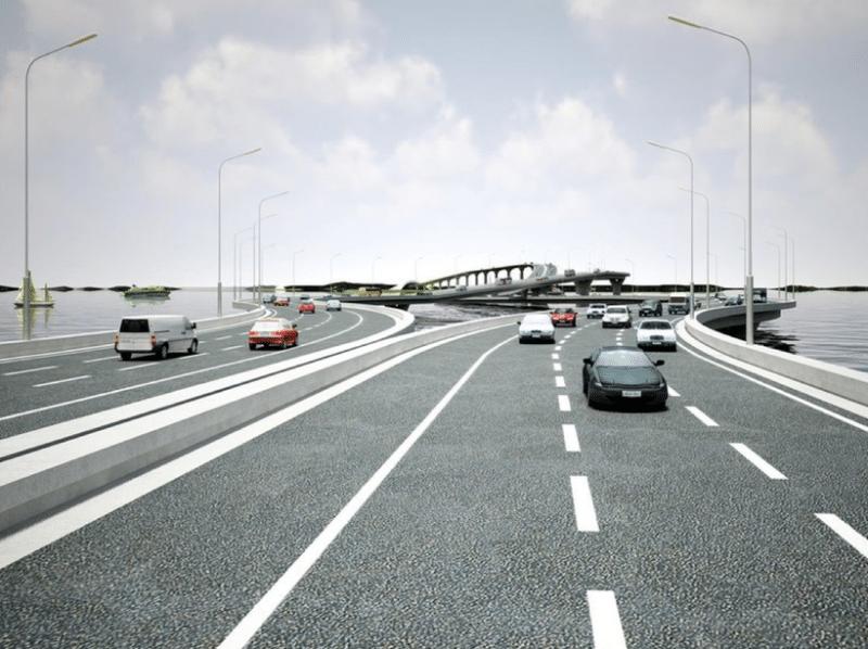 Самый странный мост в мире между Китаем и Гонконгом