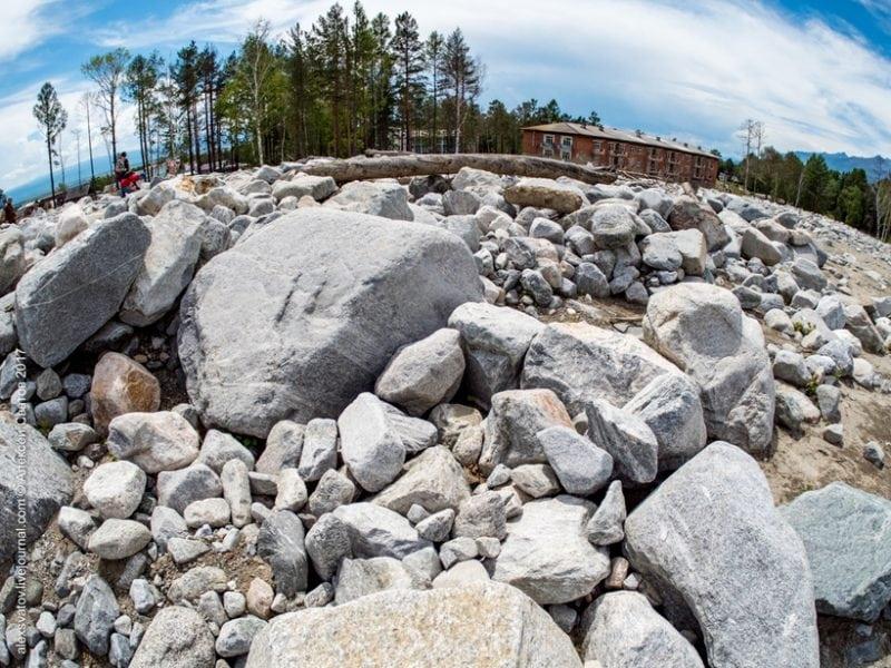 Сход каменной лавины в Аршане: Как это было?