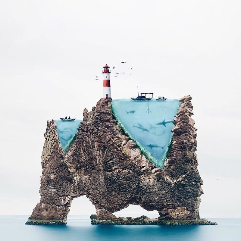 Сюрреализм в фотографиях португальской художницы