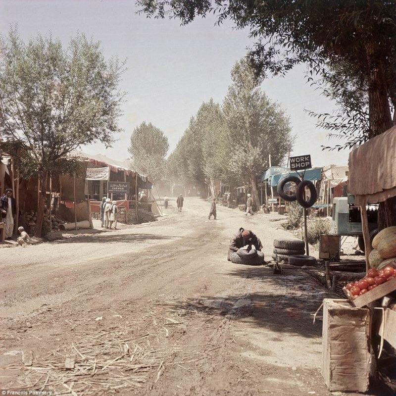 Довоенная жизнь Афганистана в фотографиях Франсуа Поммери
