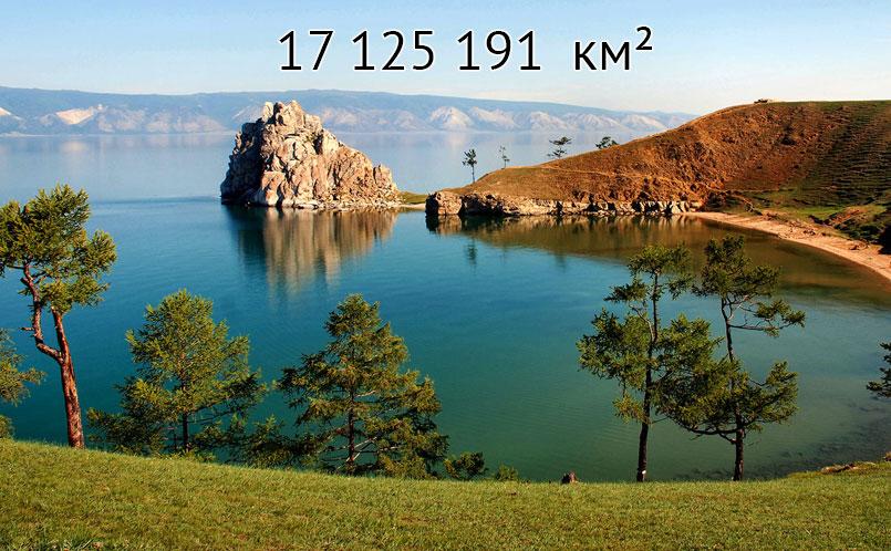 Какая самая большая страна в мире – Топ 10